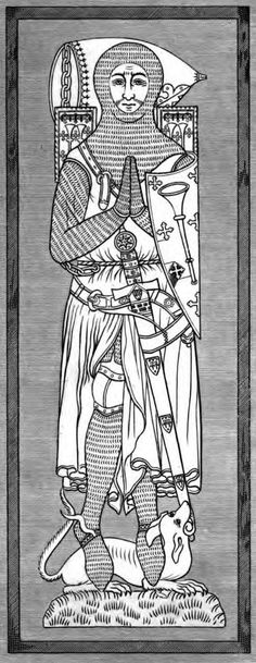 Roger de Trumpington, 1289, Church of St Mary and St Michael, Trumpington, Cambridgeshire, England