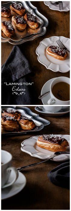 Lamington Eclairs Recipe