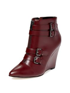 Aren Short Wedge Strap Boot