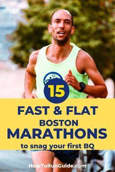 15 Flat & Fast Boston Qualifying Marathons to Snag Your BQ! Running Humor, Running Motivation, Running Workouts, Running Tips, Marathon Tips, First Marathon, Half Marathon Training, Marathon Running, Chicago Marathon