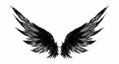 Dark Wings Tattoo Designs is a free transparent png image. Search and find more on Vippng. Wing Neck Tattoo, Girl Neck Tattoos, Chest Tattoo, Tattoos For Guys, Cool Tattoos, Wings Tattoo Back, Wing Tattoos On Back, Anime Tattoos, Sleeve Tattoos