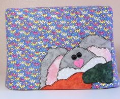 Bunny Rabbit Toaster Cover - 2 Slice Toaster Cover by PatsysPatchwork on Etsy