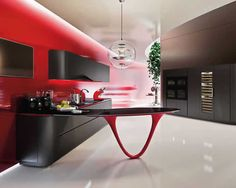 Love a good kitchen and a Ferrari? You can have both with the Pininfarina and Snaidero OLA 25 Ferrari Kitchen