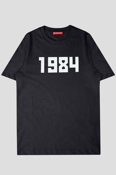 274b31afe5a3 GOSHA RUBCHINSKIY SS TSHIRT 1984 BLACK