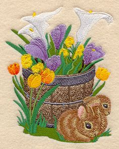 Machine Embroidery Designs at Embroidery Library! - Color Change - D4465 3/04/2011