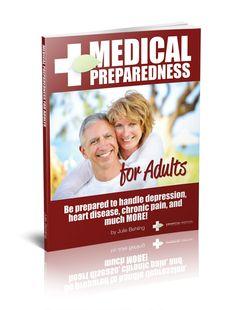 Essential Survival Store - Medical Preparedness for Adults, $7.99 (http://store.essentialsurvival.org/medical-preparedness-for-adults/)