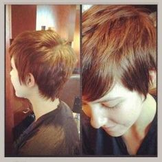 thirty Brief Pixie Cuts for Girls