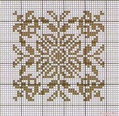 ru / Foto # 94 - Le id Filet Crochet Charts, Crochet Motif, Crochet Patterns, Embroidery Patterns, Hand Embroidery, Cross Stitch Patterns, Blackwork, Bargello Needlepoint, Chart Design