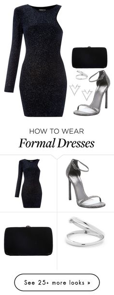 """Formal Event"" by ms-stylista-dancer on Polyvore featuring John Zack, Stuart Weitzman, Sergio Rossi and Nadri"