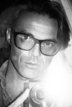 Mario Sorrenti , 1971, Italian photographer and director best known for his spreads of nude models in the pages of Vogue and Harper's Bazaar.He has had exhibitions in London (Victoria and Albert Museum), Paris, Monaco and New York (Museum of Modern Art). He has undertaken campaigns and directed commercials for Calvin Klein, and has shot Kate Moss for the Calvin Klein Obsession ads