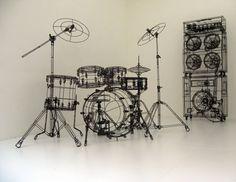 Wire Drumset