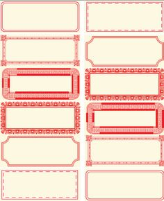 Free Printable Labels ... http://ribbonwoodcottage.blogspot.com/2010/04/decoupage-red-and-white-canisters-free.html