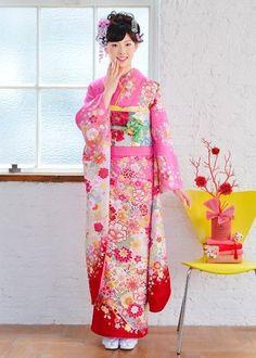 Kimono furiode