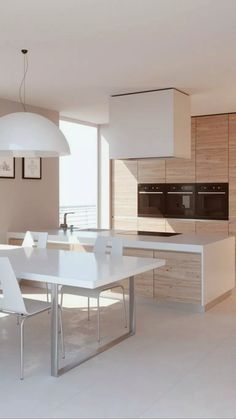 50 inspiring kitchen cabinet colors and ideas that will blow you away 30 ~ Best Dream Home Home Decor Kitchen, Kitchen Furniture, Kitchen Interior, Interior Design Living Room, Kitchen Cabinet Colors, Scandinavian Kitchen, Küchen Design, Design Ideas, Minimalist Kitchen