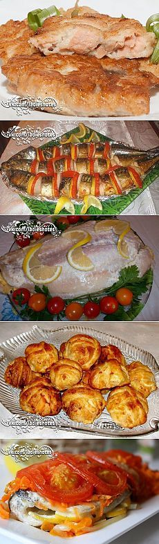 Легкие блюда из рыбы рецепты с фото