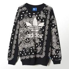 人気のバンダナ柄!【Adidas Originals】Paisley トレーナー