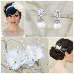 Bridal Accessory Inspiration Board created for Megan ~ Free Bridal Stylist Service ~ #bride #bridal #wedding #bridalhairaccessories #weddinghairaccessories #bridaljewelry #weddingjewelry #bridalstyle #bridalbeauty #bridalstylist