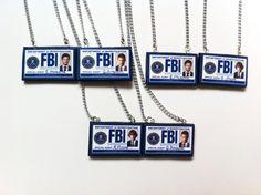 Best Friends Supernatural FBI Badge Necklaces (PICK 2) on Etsy, $22.50