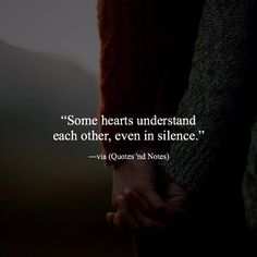 Some hearts understand each other even in silence. via (http://ift.tt/2Gg7BrA)