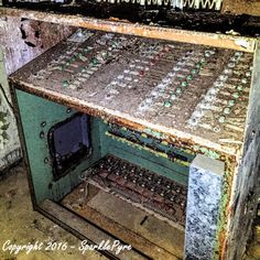 Abandoned Photography - Control Panel - Instant Download - Abandoned Prison, Abandoned Jail, Abandoned Military Stockade