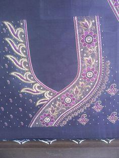 Heavy silver jardosi work http://mytailor.in/