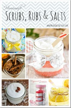 These salt scrubs and bath salts are so easy to make …   that you still have time to whip some up for your friends and family!   The ingredients are plentiful and easy to find – in fact, ...