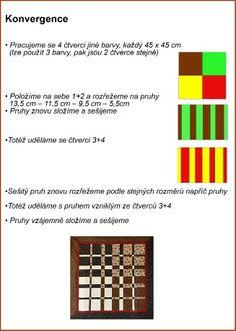 Patchwork = barevná geometrie - Fotoalbum - Návody - Konvergence