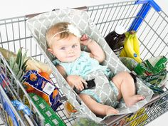 5 Safe Alternatives to Putting a Car Seat on Top of the Shopping Cart. why you should never place a baby infant car on top of your cart