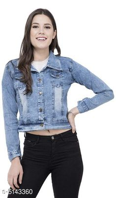 Jackets Classic Fashionista Women Jacket Fabric: Denim Sleeve Length: Long Sleeves Pattern: Solid Multipack: 1 Sizes:  S (Bust Size: 36 in Length Size: 30 in)  XL (Bust Size: 42 in Length Size: 30 in)  L (Bust Size: 40 in Length Size: 30 in)  M (Bust Size: 38 in Length Size: 30 in)  Country of Origin: India Sizes Available: S, M, L, XL   Catalog Rating: ★4.1 (2180)  Catalog Name: Free Mask Classic Fashionista Women Jackets Vol 1 CatalogID_759475 C79-SC1023 Code: 213-5143360-327