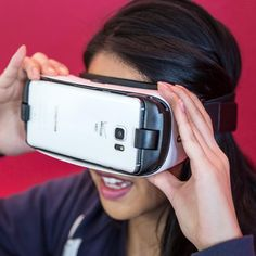 for those who love to watching movies on their Samsung phones - Samsung Gear VR