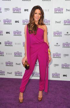 The lovely Kate Backinsale @ Spirit Awards 2012