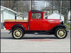 1930 Ford Model A Closed Cab Pickup 201 CI, 3-Speed  #MecumINDY