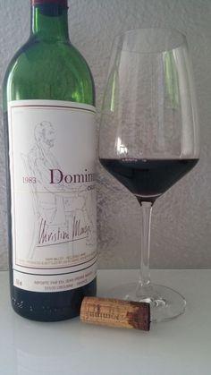 Dominus First released Vintage Bordeaux, Red Wine, Alcoholic Drinks, Bottle, Glass, Vintage, Wine, Drinkware, Bordeaux Wine