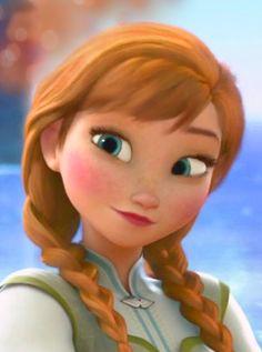 Beautiful Anna from Frozen Anna Frozen, Frozen Disney, Walt Disney, Frozen Movie, Cute Disney, Disney Magic, Frozen 2013, Anna Disney, Best Disney Movies