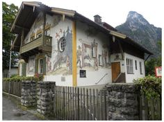 Little Red Riding Hood House, Oberammergau