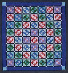 Grandmas Attic Window Patchwork Amish Quilt