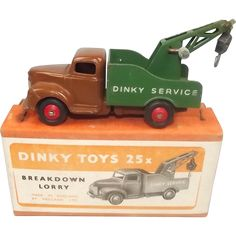 Boxed Dinky Toys 25x Breakdown Lorry