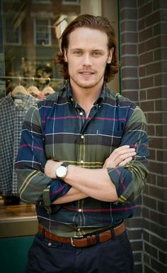 Sam Heughan at Barbour Madison - September 22nd, 2016