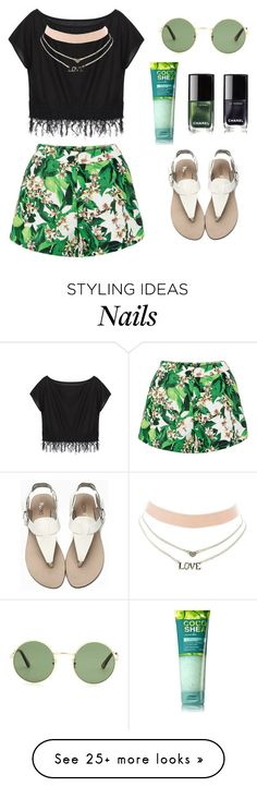 """"""""""" by brooklynqueen04 on Polyvore featuring Charlotte Russe, Yves Saint Laurent and Chanel"""