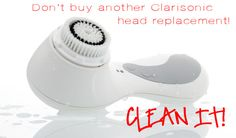 Clarisonic Brushes | How To Clean (Almost) Anything And Everything