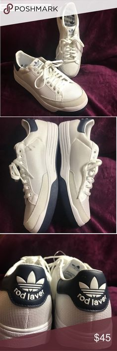 Adidas Rod Laver Sneakers Brand-new and never worn. Bought here on PM but they don't fit me. adidas Shoes Sneakers