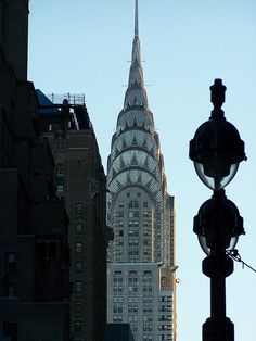 My favorite building- Chrysler Building