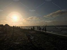 Beach Sunset by Design & photo resources on @creativemarket