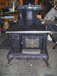old and antique cole stoves | Wyoming Dockash Model F