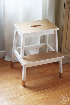 I already have this stool, so this would be an easy little project!