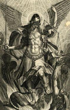 Raphael Sadeler II, Saint Michael the Archangel, 1604