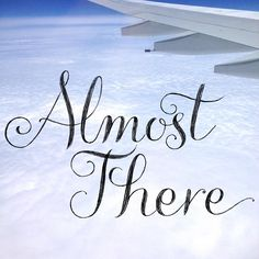 Drew this lettering on the plane last week, thought it might be nice to combine it with the pic I took from the window seat ✈️ #100daysoflettering #windowseat #travel #moderncalligraphy #lettering