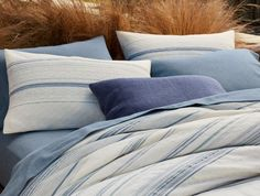 These would be the Euro shams I am highlighting    Pacific Grove Duvet Cover | Coyuchi