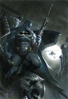 The Dark Knight - Batman by Gabriele Dell'Otto *
