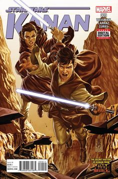 *High Grade* (W) Greg Weisman (A) Pepe Larraz (CA) Mark Brooks • Caleb Dume enters the Clone Wars for the first time! • He and his new Master Bilaba take command of a Clone troop... • And face one of
